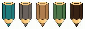 Color Scheme with #217C7E #69635B #B07E4C #4C7748 #382314