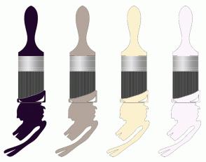 Color Scheme with #20072B #B3A59B #FCF1CF #FCF5FC