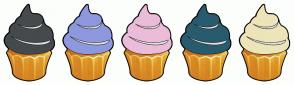 Color Scheme with #454A4D #8E98DE #EBBCDA #295B6E #EDE4B9