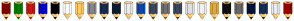 Color Scheme with #800000 #008000 #CE1515 #0000CD #000000 #FFFFFF #FFCC66 #84848C #172B4E #0C1B32 #EBEBEB #0F48A7 #3C475B #707070 #3B475A #DFDFDF #F1F1F1 #E1AA3D #101010 #686868 #001436 #182E54 #E9ECF0 #980000