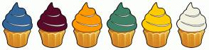 Color Scheme with #336699 #5A0B27 #FF9900 #3F8266 #FFCC00 #F4F2E1
