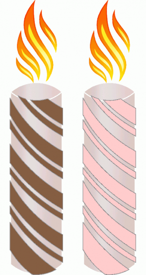 Color Scheme with #855E42 #FFCCCC