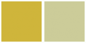 Color Scheme with #CFB53B #CCCC99