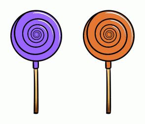 Color Scheme with #9966FF #E47833