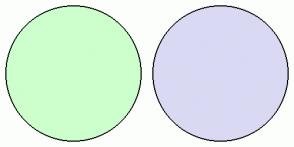 Color Scheme with #CCFFCC #D9D9F3
