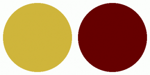 Color Scheme with #CFB53B #660000