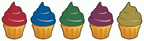 Color Scheme with #B52735 #005B9A #317546 #7D3459 #A8933E