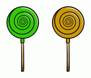 Color Scheme with #33CC00 #CC9900