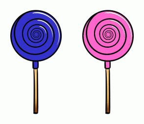 Color Scheme with #3333CC #FF66CC