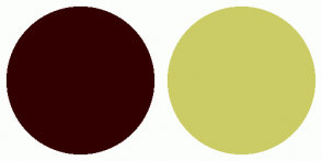 Color Scheme with #330000 #CCCC66