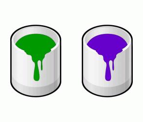 Color Scheme with #009900 #6600CC