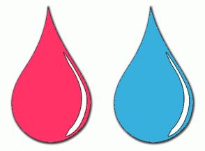 Color Scheme with #FF3366 #38B0DE