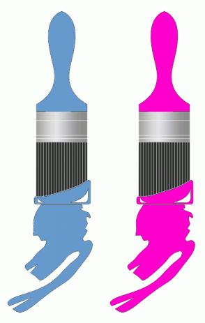 Color Scheme with #6699CC #FF00CC