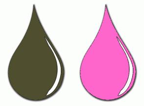Color Scheme with #4F4F2F #FF66CC