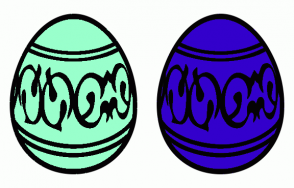 Color Scheme with #99FFCC #3300CC