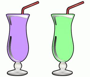 Color Scheme with #CC99FF #99FF99