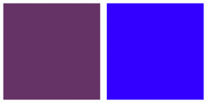 Color Scheme with #663366 #3300FF