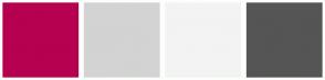 Color Scheme with #B60050 #D3D3D3 #F3F3F3 #555555