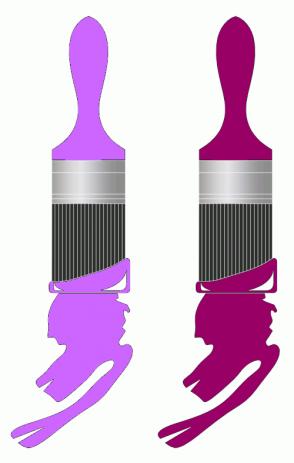 Color Scheme with #CC66FF #990066