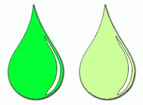 Color Scheme with #00FF33 #CCFF99