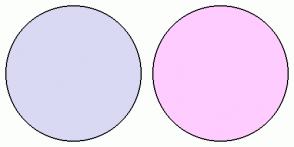 Color Scheme with #D9D9F3 #FFCCFF