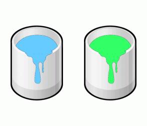 Color Scheme with #66CCFF #33FF66