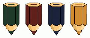 Color Scheme with #1F3B29 #61201A #1B243B #D18C32
