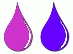 Color Scheme with #CC33CC #6600FF