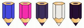 Color Scheme with #454ADE #F62DAE #3E2F5B #ECEBE4 #261132