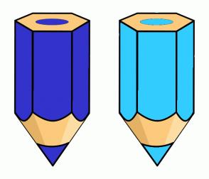 Color Scheme with #3333CC #33CCFF