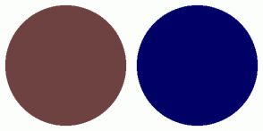 Color Scheme with #6F4242 #000066