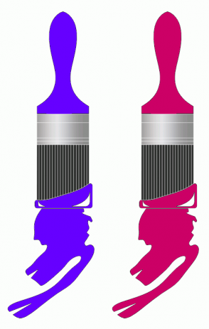 Color Scheme with #6600FF #CC0066