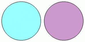 Color Scheme with #99FFFF #CC99CC