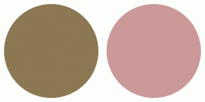 Color Scheme with #8C7853 #CC9999