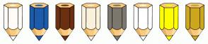 Color Scheme with #FFFCF5 #1C5CAB #6B3011 #F9F1DC #7C786E #FFFFFF #FFFF00 #CDA71D