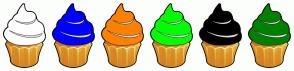 Color Scheme with #FFFFFF #0000FF #FF8000 #00FF00 #000000 #008000
