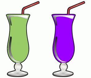 Color Scheme with #99CC66 #9900FF