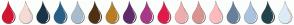 Color Scheme with #D41532 #F5DBD3 #1A3347 #296085 #A9BCCC #4F3112 #B87E27 #612B6B #A83987 #E01B4C #F0ADAD #D99393 #FFBABE #687F9C #ABC4DE #23444A #DCEBF5