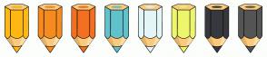 Color Scheme with #FDB813 #F68B1F #F37021 #62C2CC #E4F6F8 #EEF66C #36393D #555555