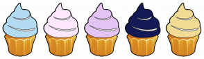 Color Scheme with #B3DCF2 #FEE8FF #E4C4F5 #131A54 #F2DB94