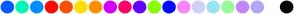 Color Scheme with #075AFF #07F5B5 #008FFF #FF0A00 #FA5007 #FFDE00 #FF8F00 #D600FF #FF0066 #6600FF #85FF00 #000AFF #F985FF #D1D1F5 #9AE3F5 #98FA9D #C186FC #AEA6F7 #FFFFFF #020202
