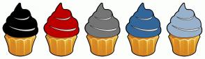 Color Scheme with #000000 #BC0000 #757575 #336699 #99B2CC