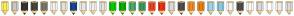 Color Scheme with #FDEE5E #C8C8C3 #343434 #464641 #78786F #F2F2F2 #E1E1DF #124891 #E7E7E7 #EFEFEF #E2E2E2 #01CC00 #01B300 #43AC6A #3C9A5F #F04124 #EA2F10 #DADADA #4E4E4E #F08A24 #EA7D10 #A0D3E8 #8BC9E3 #F4F4F4 #4D4D4D #FAFAFA #D9D9D9 #FFFFFF #EDEDED #DBDBDB