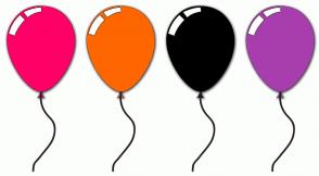 Color Scheme with #FF0066 #FF6600 #000000 #A83EAD