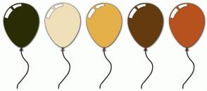 Color Scheme with #2A2C05 #EFE0B9 #E4B04A #643B0F #B7521E