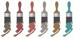 Color Scheme with #7B695D #955251 #AD655F #9C918A #957451 #519495