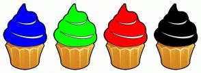 Color Scheme with #0000FF #00FF00 #FF0000 #000000