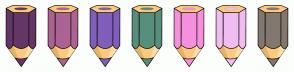 Color Scheme with #643666 #AB6392 #7F5FBA #568F7B #F590DC #F0BDF2 #82786F