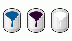 Color Scheme with #005B9A #2C002E #FFFFFF