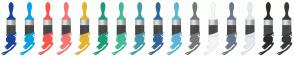Color Scheme with #1B4298 #00A4E4 #FE524C #FB7374 #E6B429 #1D9A78 #42BA97 #4199AD #336699 #5BB7DA #777777 #F5F5F5 #69778A #E5E8EB #282A2B #363839